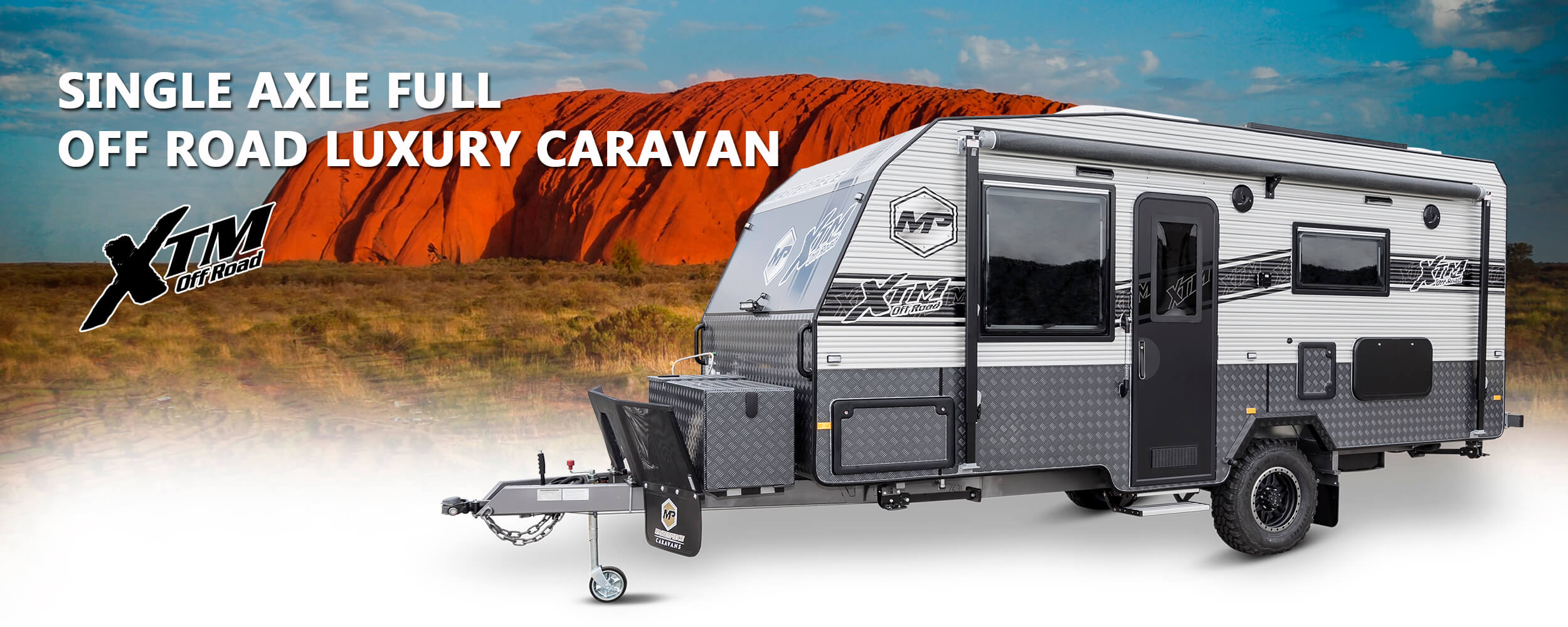 XTM - Single Axle Full Off Road Luxury Caravan