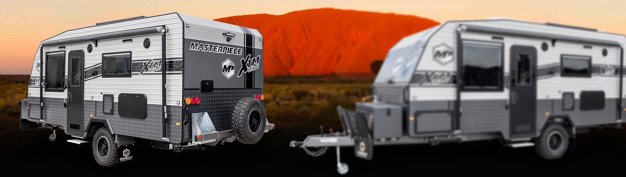 XTM - Light Weight Off Road Caravan
