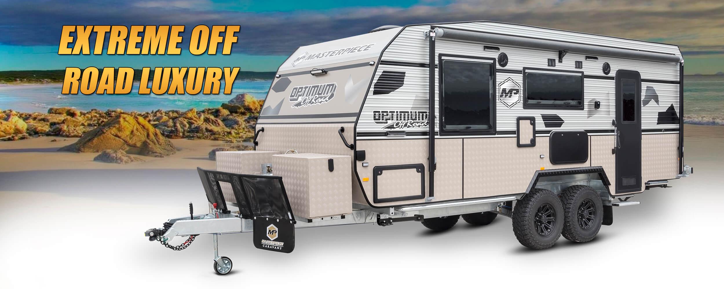Optimum - Extreme Luxury Off Road Caravan